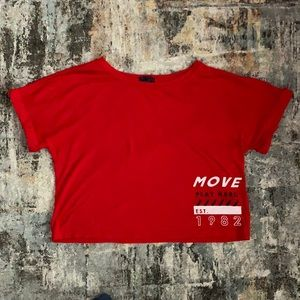 Crop Top by Move (Ardene) Size Large